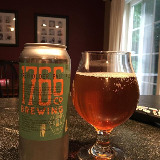1766 Brewing Co. Freeholder Pale Ale