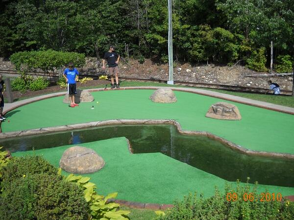 mini golf lincoln nh
