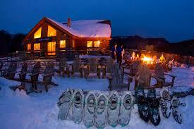 snowshoe tour loon mountain