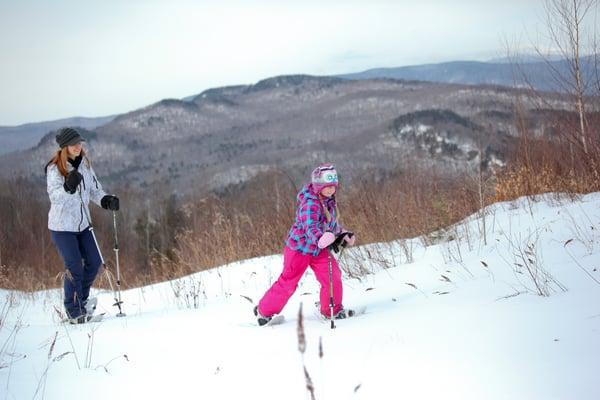 Snowshoeing NH