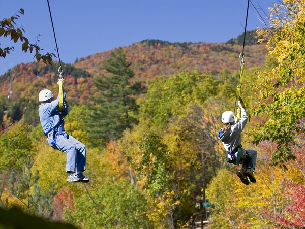 alpine zipline nh