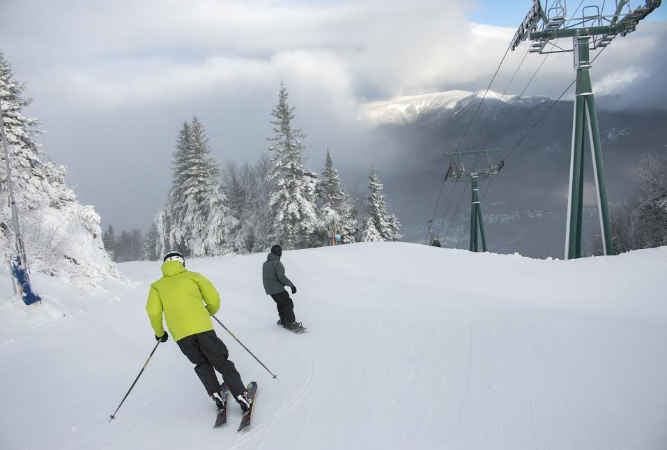 Skiing and Snowboarding Loon Mountain