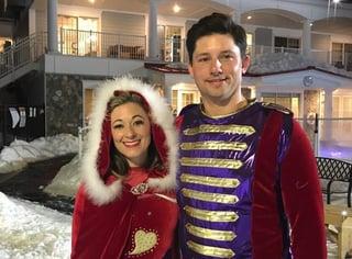 Fred & Melanie as prince Henry & princess Lafayette2crop