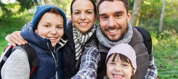 best spring family hikes nh