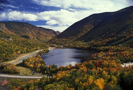 New-Hampshire-Echo-Lake-Franconia-Notch-park