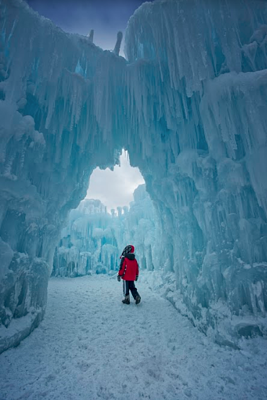 visiting the ice castles