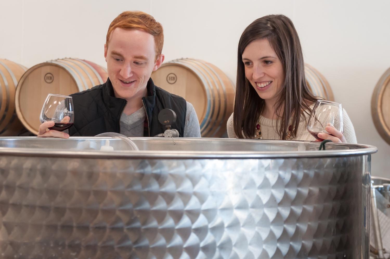 Wedding Wine Barrel Club