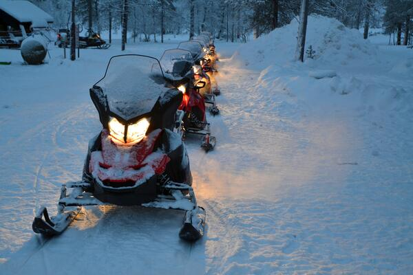 Snowmobiling Lincoln