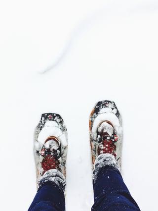 Snowshoeing White Mountains