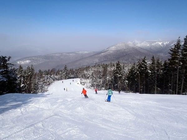 ski at loon