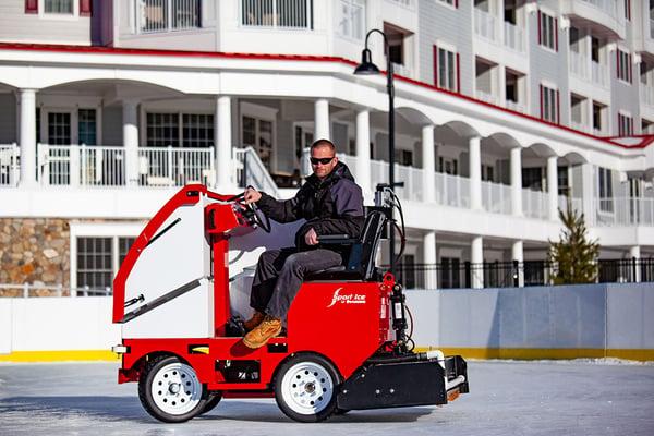 ice maintenance zamboni