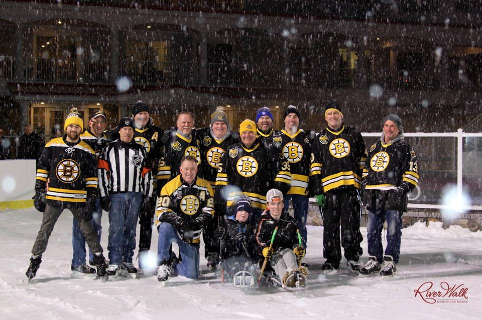 skate with the bruins