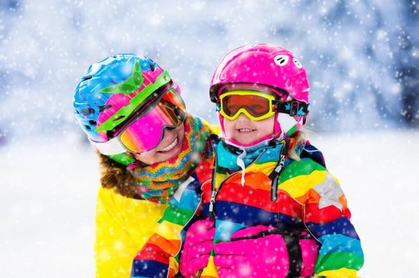 Family Ski Trip White Mountains