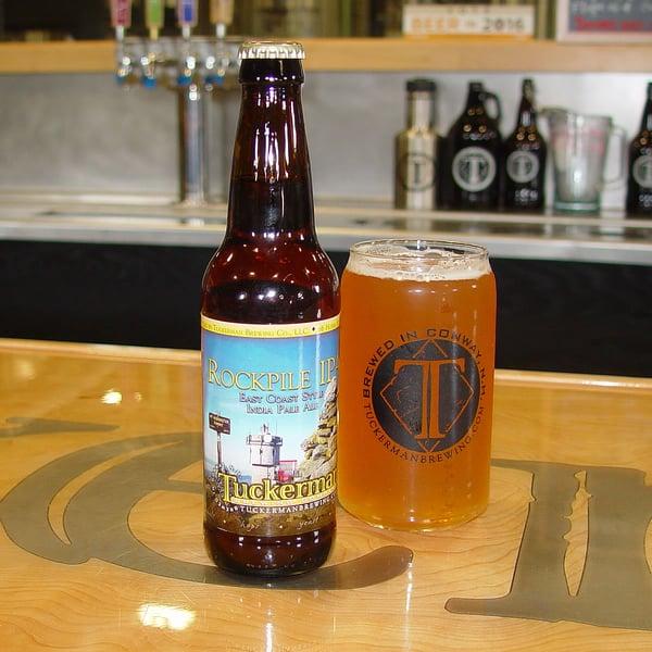 Tuckerman Brewing Rockpile IPA