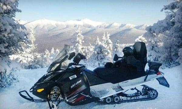 sledventures snowmobile rentals